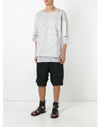 Thom Krom | Gray Layered T-shirt for Men | Lyst