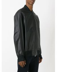 Y-3 | Black Versa Bomber Jacket for Men | Lyst