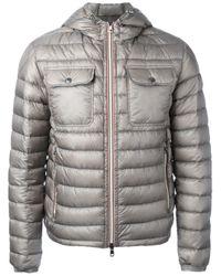 Moncler | Gray Douret Padded Jacket for Men | Lyst