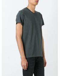 Jil Sander - Gray Classic T-shirt for Men - Lyst