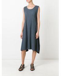Issey Miyake Cauliflower - Green Ribbed Dress - Lyst