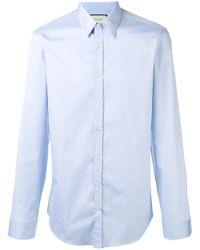 Gucci | Blue Classic Poplin Shirt for Men | Lyst