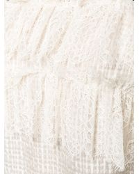 Philosophy Di Lorenzo Serafini | Multicolor Sleeveless Lace Top | Lyst