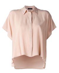 Roberto Collina - Multicolor - Boxy Shirt - Women - Silk - L - Lyst