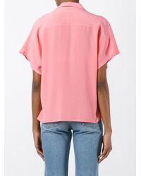Roberto Collina - Pink Boxy Shirt - Lyst