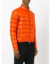 Moncler - Orange Acorus Padded Jacket for Men - Lyst