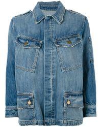 Current/Elliott | Blue - The Update Denim Jacket - Women - Cotton/lyocell - 2 | Lyst