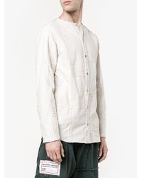 By Walid - Multicolor Collarless Shirt for Men - Lyst