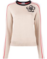 RED Valentino | Multicolor Flower Embroidered Jumper | Lyst