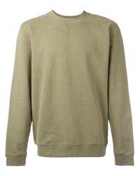 Sunspel | Green Loopback Cotton-jersey Sweatshirt for Men | Lyst