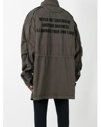 Juun.J - Green Oversized Midi Coat for Men - Lyst