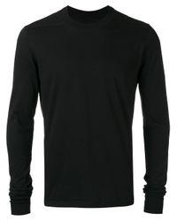Rick Owens Drkshdw | Black Plain Sweater for Men | Lyst