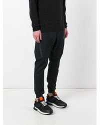 Nike - Black Tech Bonded Track Pants for Men - Lyst