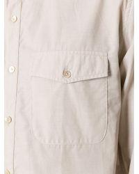 A Kind Of Guise - Natural Mandarin Neck Shirt for Men - Lyst