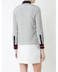 Loveless - White Chains Print Shirt - Lyst
