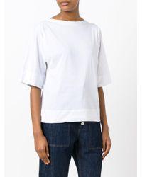 Sofie D'Hoore   White Plain T-shirt   Lyst