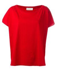 Faith Connexion | Red Boxy T-shirt | Lyst