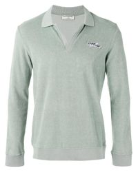 Éditions MR | Green Terry Knit Polo Shirt for Men | Lyst