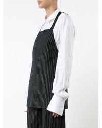 Josh Goot - Blue Tailored Apron Top - Lyst