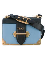 f60ed11abc Prada - Cahier Shoulder Bag - Women - Calf Leather metal - One Size ...