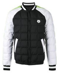 KENZO | Black Quilted Bomber Jacket for Men | Lyst