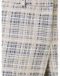 Incotex - Multicolor - Cropped Checked Trousers - Women - Cotton/acrylic/polyester - 38 - Lyst