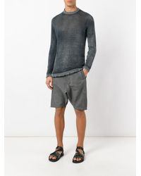 Avant Toi - Gray High Neck Slim-fit Jumper for Men - Lyst