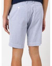 Polo Ralph Lauren - Blue Striped Deck Shorts for Men - Lyst