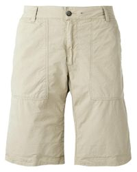 Woolrich   Natural Reversible Camouflage Shorts for Men   Lyst