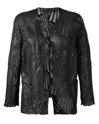 Salvatore Santoro | Black Shell Jacket | Lyst