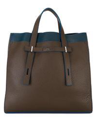 Furla | Brown Giove Tote Bag for Men | Lyst