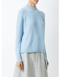 Egrey - Blue - Wool And Cashmere Jumper - Women - Cashmere/wool - P - Lyst