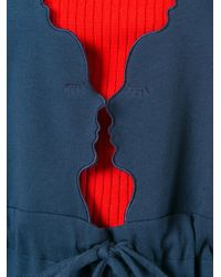 Vivetta - Blue Fennec Jumpsuit - Lyst