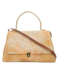 Cherevichkiotvichki - Natural Double Prism Lock Shoulder Bag - Lyst