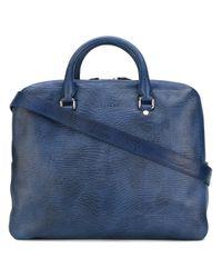 Orciani | Blue Top Handles Shoulder Bag for Men | Lyst