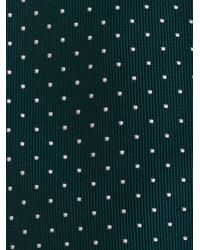 Paul Smith - Green Polka Dots Pattern Tie for Men - Lyst