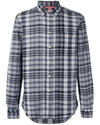 Paul by Paul Smith - Black Checked Shirt for Men - Lyst
