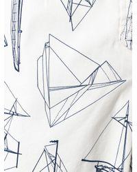 Tory Burch - Multicolor Boat Print Shorts - Lyst