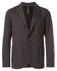 Eleventy Brown Two Buttoned Blazer for men