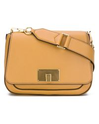 Marc Jacobs   Brown - Clasp Shoulder Bag - Women - Cotton/leather/metal - One Size   Lyst