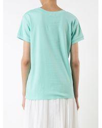 Natasha Zinko - Green Cool Girls T-shirt - Lyst