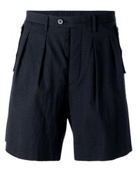 Wooyoungmi - Blue Bermuda Shorts for Men - Lyst
