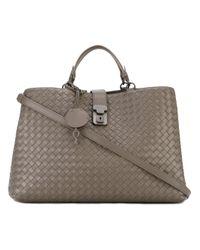 44cc25f62841 Bottega Veneta - Roma Intrecciato Tote - Women - Leather - One Size ...