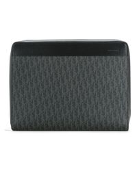 Dior Homme - Gray Logo Printed Wallet - Lyst