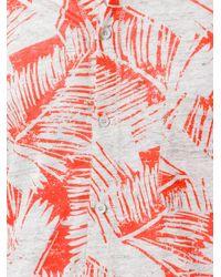 Majestic Filatures - Multicolor Palm Print Shirt for Men - Lyst