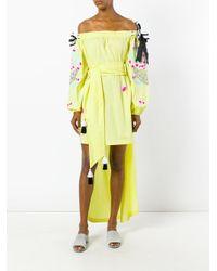 Yuliya Magdych - Yellow 'cherry' Dress - Lyst