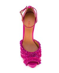 Chie Mihara | Pink 'anulu' Sandals | Lyst