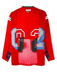 Facetasm | Red Sports Jersey for Men | Lyst