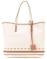 Tod's | Natural Women Shopper Tote | Lyst