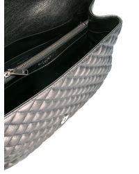 Saint Laurent - Metallic Monogram Shoulder Bag - Lyst